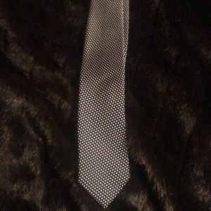 Tom Ford signature polka dot tie.
